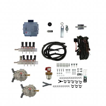 BRC SEQUENT PLUG&DRIVE (140-200KW) V 2 x Genius MB 1500 8 цил.