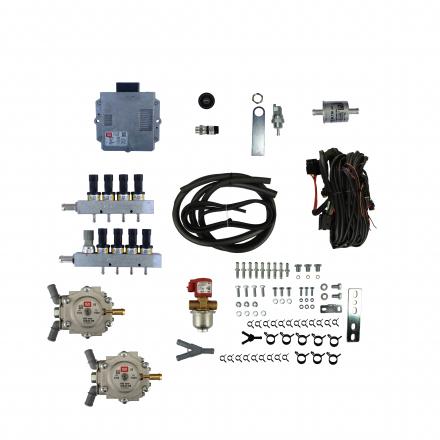 BRC SEQUENT PLUG&DRIVE (200-240KW) V 2 x Genius MB 1500 8 цил.