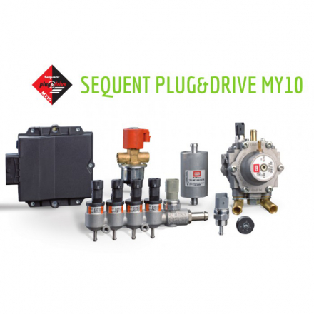 BRC SEQUENT PLUG&DRIVE (80KW) 4 цил.