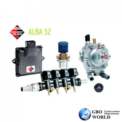 BRC SEQUENT 32 ALBA (100-120KW) 4 цил.