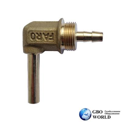 Переходник  угловой FARO D=6 мм